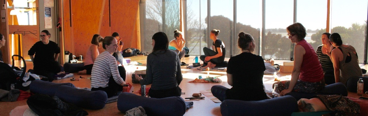 Announcing  an upcoming Day of Spilt Milk Yoga <span class=